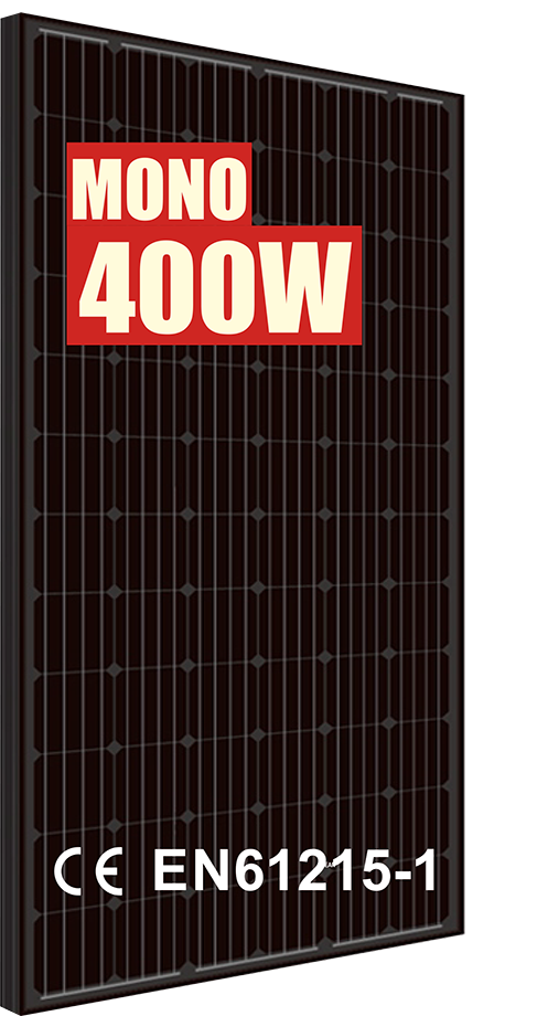 Solpanel från Franzetti med Mono 400W